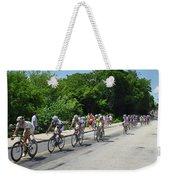 Philadelphia Bike Race - Manayunk Avenue Weekender Tote Bag