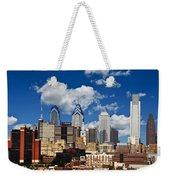 Philadelphia Blue Skies Weekender Tote Bag by Bill Cannon