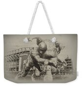 Philadelphia Eagles At The Linc Weekender Tote Bag by Bill Cannon
