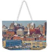 Philadelphia - From The Ben Franklin Bridge Weekender Tote Bag