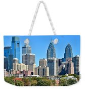 Philadelphia In Tight Weekender Tote Bag