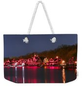 Philadelphia Night Weekender Tote Bag