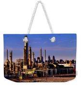 Philadelphia Oil Refinery  Weekender Tote Bag