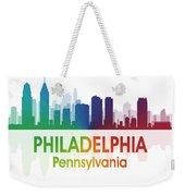 Philadelphia Pa Weekender Tote Bag