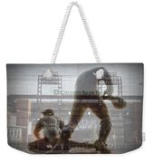Philadelphia Phillies - Citizens Bank Park Weekender Tote Bag by Bill Cannon