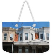 Philadelphia Row Houses Weekender Tote Bag