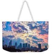 Philadelphia Sky Weekender Tote Bag