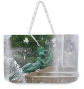 Philadelphia - Swann Memorial Fountain - Logan Square Weekender Tote Bag