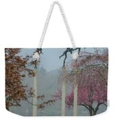 Philadelphia - Three Angels In Spring Weekender Tote Bag