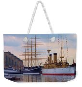 Philadelphia Waterfront Olympia Weekender Tote Bag