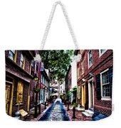 Philadelphia's Elfreth's Alley Weekender Tote Bag