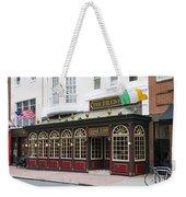 Philadelphia's Famous Irish Pub Weekender Tote Bag