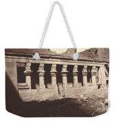 Philae, Cour Int?rieure, Colonnade De L'ouest Weekender Tote Bag