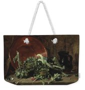Philippe Rousseau Still Life With Artichokes, 1868 Weekender Tote Bag