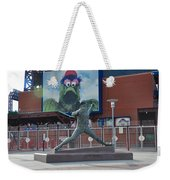 Phillies Steve Carlton Statue Weekender Tote Bag