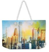 Philly From Drexel Hill Weekender Tote Bag