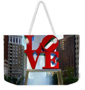 Philly Love Weekender Tote Bag