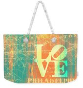 Philly Love V10 Weekender Tote Bag