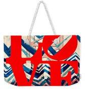 Philly Love V17 Weekender Tote Bag