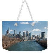 Philly Winter Weekender Tote Bag