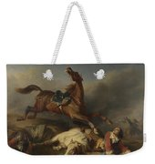 Philogene Tschaggeny   An Episode On The Field Of Battle Weekender Tote Bag