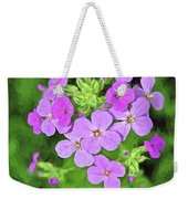 Phlox For You Weekender Tote Bag