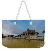 Phnom Penh Royal Palace Plaza Weekender Tote Bag