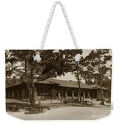 Phoebe A Hearst Social Hall Asilomar Pacific Grove Circa 1925 Weekender Tote Bag