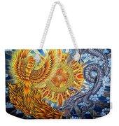 Phoenix And Dragon Weekender Tote Bag