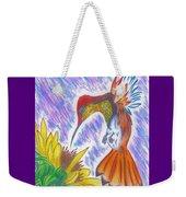 Phoenix Fire Hummingbird Weekender Tote Bag