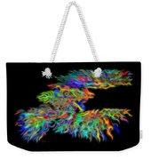 Phoenix Rising Electric Fractal Weekender Tote Bag