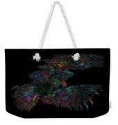 Phoenix Rising Galaxy Weekender Tote Bag
