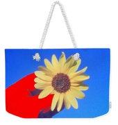 Phone Cam 491 Sun Flower Weekender Tote Bag
