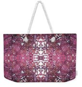 Photo 0800 Autumn Tree Leaves Fractal E1 Mid Centre Weekender Tote Bag