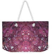 Photo 0800 Autumn Tree Leaves Fractal  E1 Mid Top  Weekender Tote Bag