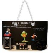 Photo Lesson  Weekender Tote Bag
