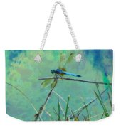 Photo Painted Dragonfly Weekender Tote Bag