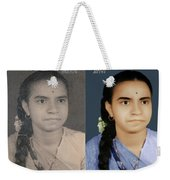 Photo Restoration Services Image Outsource India Weekender Tote Bag