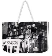 Photograph Of Marilyn Weekender Tote Bag by Charles Stuart