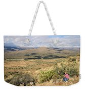 Photographer On The Scene Weekender Tote Bag
