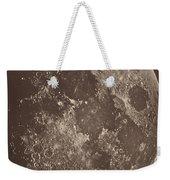 Photographie De La Lune A Son 1er Quartier Weekender Tote Bag