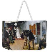 Photography Studio, C1878 Weekender Tote Bag