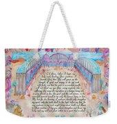Physician Prayer- English Version Weekender Tote Bag