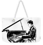 Pianist Weekender Tote Bag