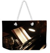 Piano Bar Weekender Tote Bag