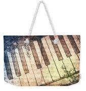 Piano Days Weekender Tote Bag