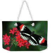 Piano Key Butterfly Weekender Tote Bag