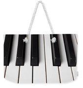 Piano Keys Close Up Weekender Tote Bag