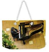 Piano Man Weekender Tote Bag