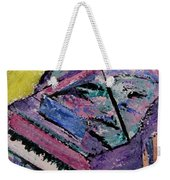 Piano Pink Weekender Tote Bag by Anita Burgermeister